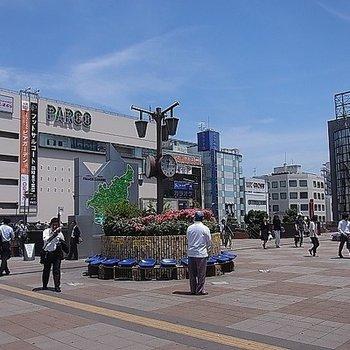 津田沼駅、栄えていますね