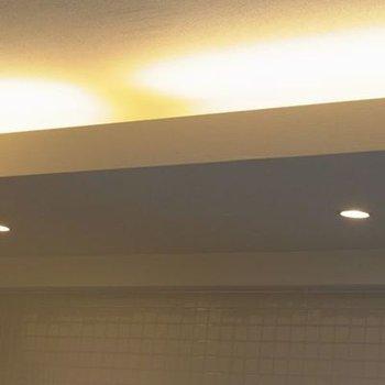 照明も充実です(写真は別室です)