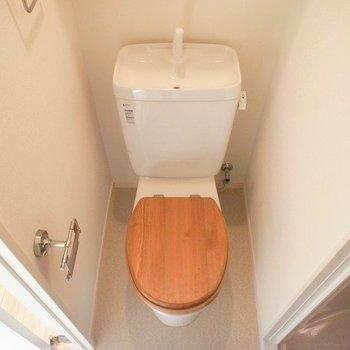 トイレもリニューアル済。※写真は前回募集時のものです