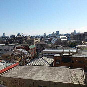 この眺め!最高ですね。※写真は7階からのものです