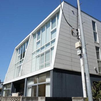 全3戸の小さなマンションです。