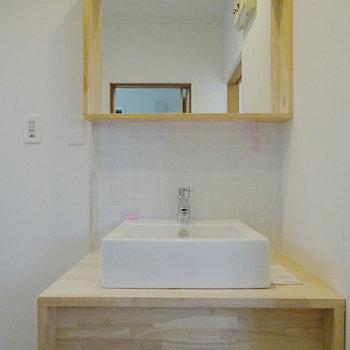 洗面所も新しく※画像はイメージ