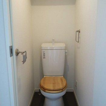 トイレは木製便座に※画像はイメージ