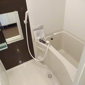 追い焚きつきのお風呂に新設※画像はイメージ