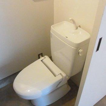1階にもトイレあり。