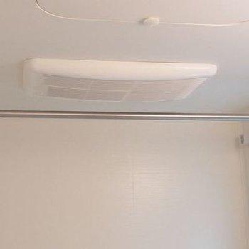 浴室乾燥機付き!※写真は別室です