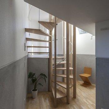 1階ロフトの下はチョット狭い(写真:平井広行)