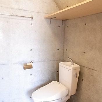トイレもクール。