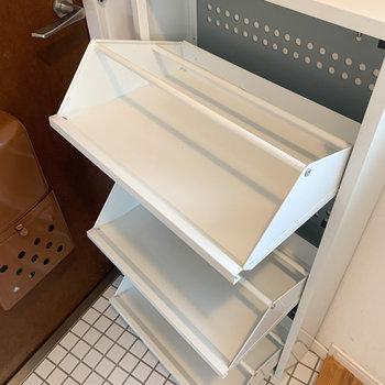 下駄箱も収納バッチリです。