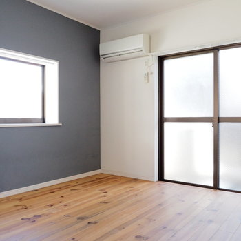 居室は2面採光で日当たり◎