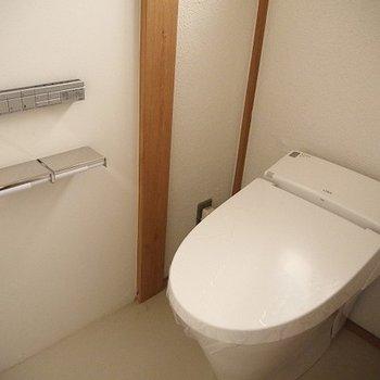 トイレはシンプルかっこいい