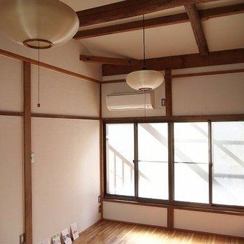 2階は和風の作りです