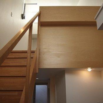 1階からはこんな眺め