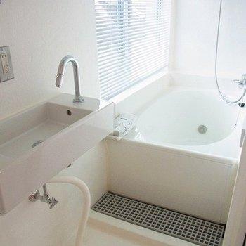 3階にお風呂と洗面台