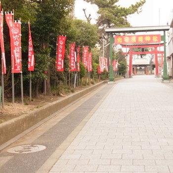 神社の参道に住まうという選択