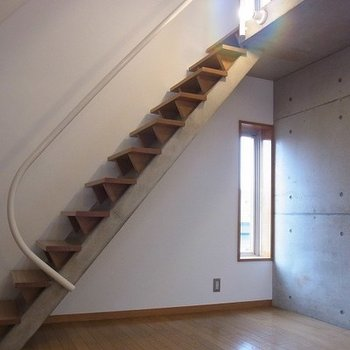 階段がかっこいい