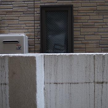 眺望:塀がぐるっと取り囲んでいます。※写真は前回募集時のものです。