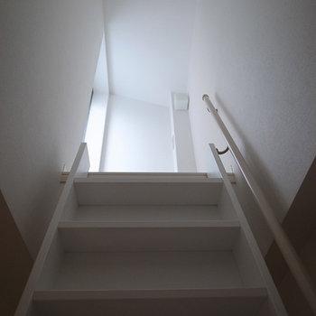 屋上への道