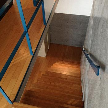 階段部分。※写真は前回募集時のものです。