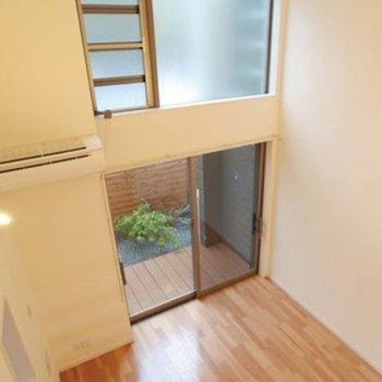 2人暮らしに最適!天井高、安心安全テラスハウス