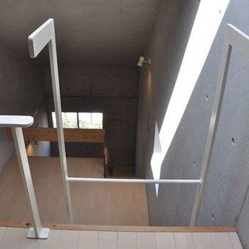 空間としての広さが半端ではない(同じ間取りの別室画像です)