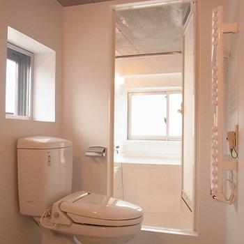 バスルームもきれいです