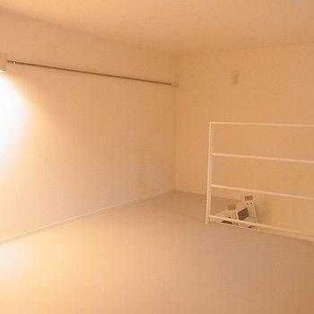 ロフトもありますよ。※写真は別部屋