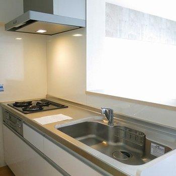 キッチンも広く使い勝手がよさそう。