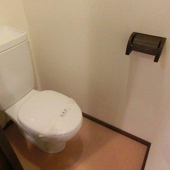 おトイレもきれい※写真は別部屋