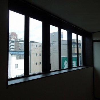 窓は北向き…