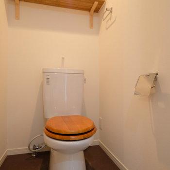 トイレもオリジナルデザインです◎