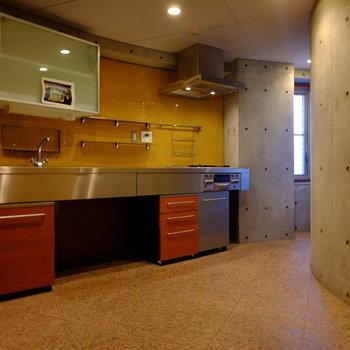 充実のキッチンスペース。