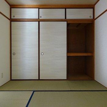 4.5帖の和室が残っています