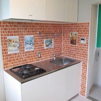 キッチンも二口で使い易いです。