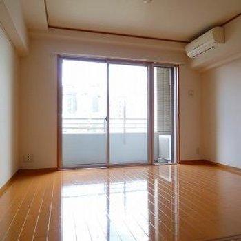 こちらは6.11帖のお部屋。日当たり良さそうですね。※画像は別室