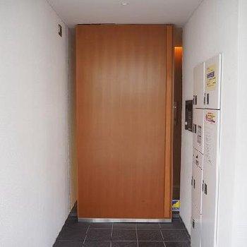 重厚感のあるエントランスの扉 ※写真は別部屋