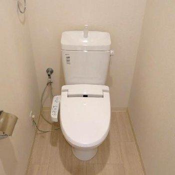 トイレは普通です