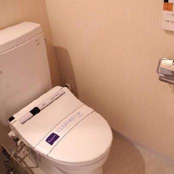 トイレはウォシュレットです