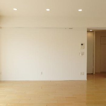 お部屋の入り口。扉はありません。