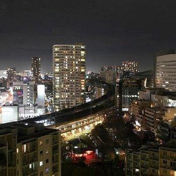 さすが17階!キレイな夜景を望めます。