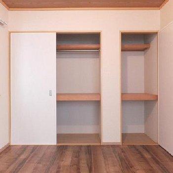 和室から洋室へと変身しました。