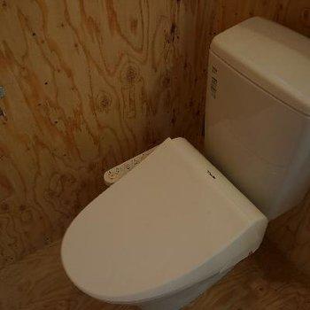 トイレはピッカピカ!
