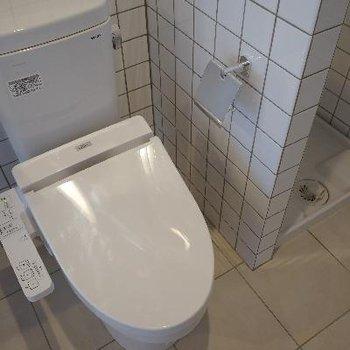 トイレもピッカピカ