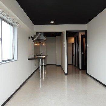 2面採光の明るい角部屋