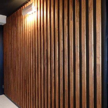 廊下のデザインもちょっと変わっています