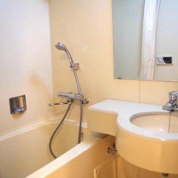 洗面台付きのお風呂