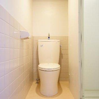 トイレも綺麗に♪