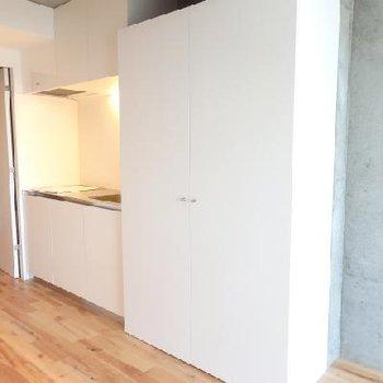 収納とキッチン!