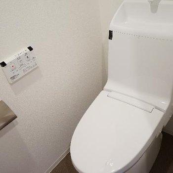 トイレもスッキリ!