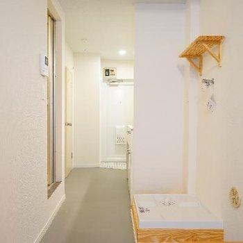水回りの床は掃除がしやすいように◎